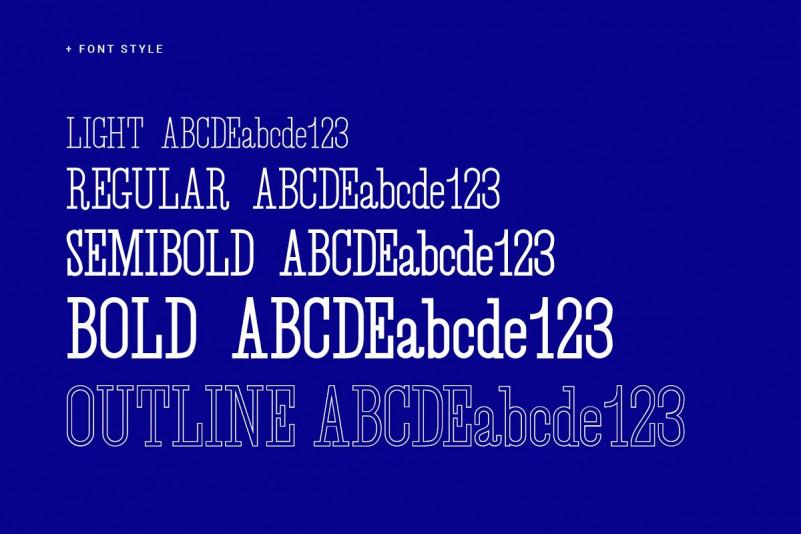 Desuka Slab Font-3