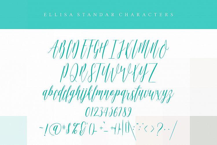 Ellisa Script Font-3