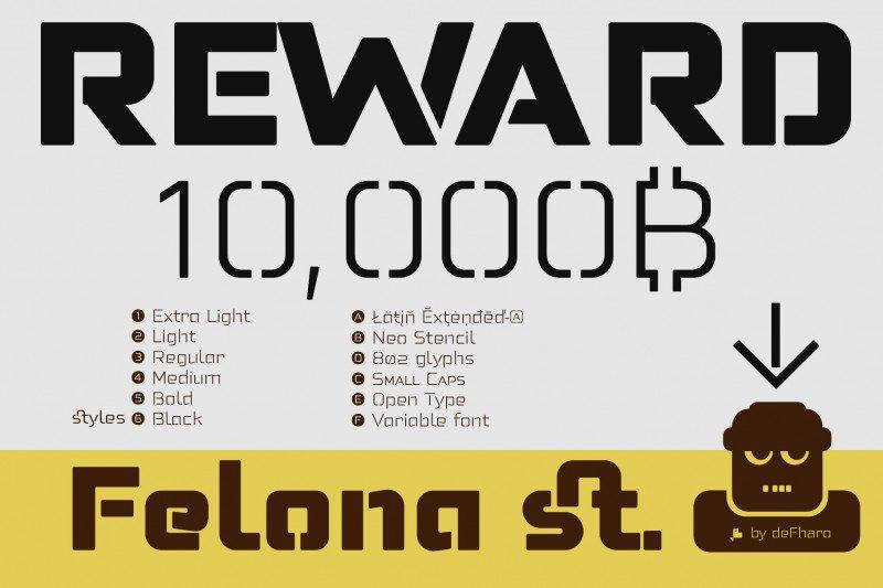 Felona st. Neo Stencil fonts-3