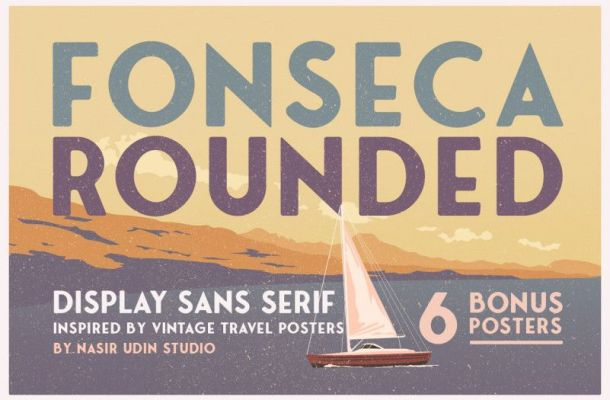 Fonseca Rounded Typeface