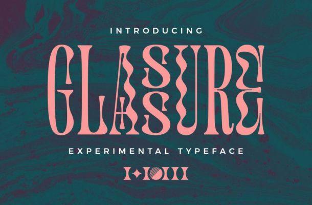 Glassure Typeface