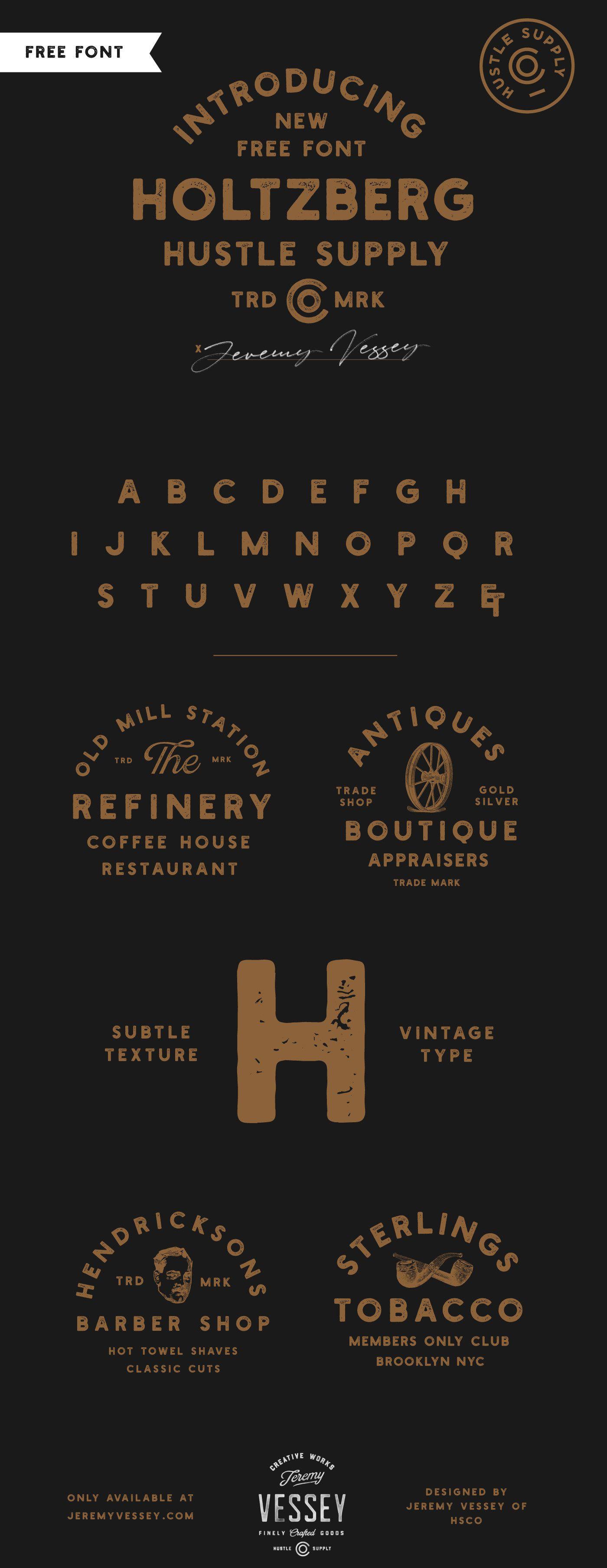 Holtzberg Typeface-2