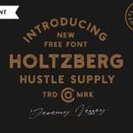 Holtzberg Typeface