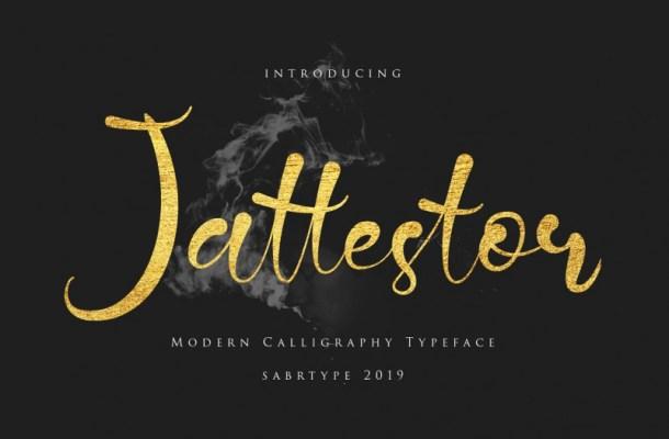 Jattestor Script Font