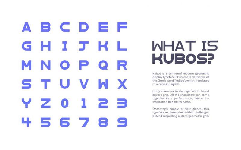 Kubos Typeface-2