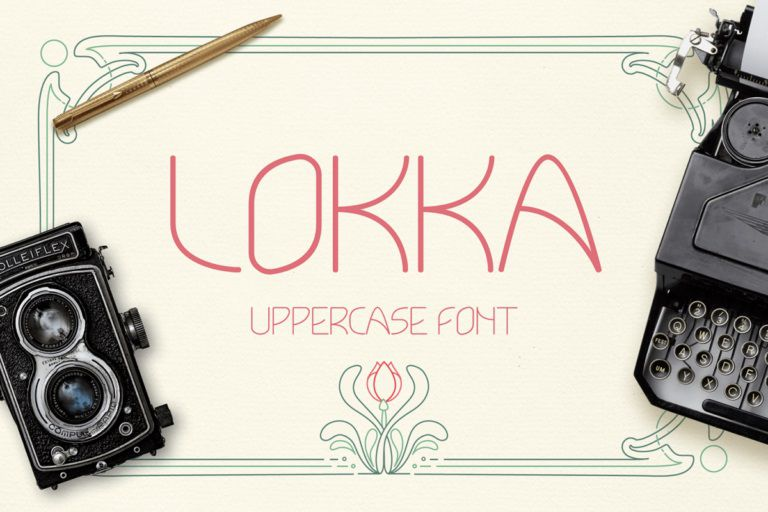 Lokka Typeface