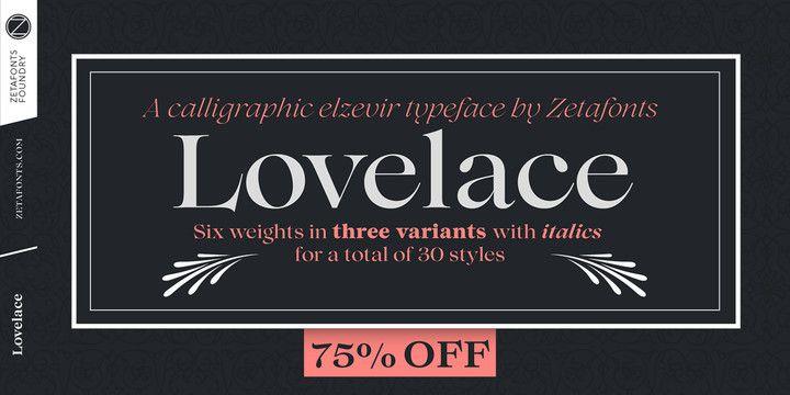 Lovelace Font Family