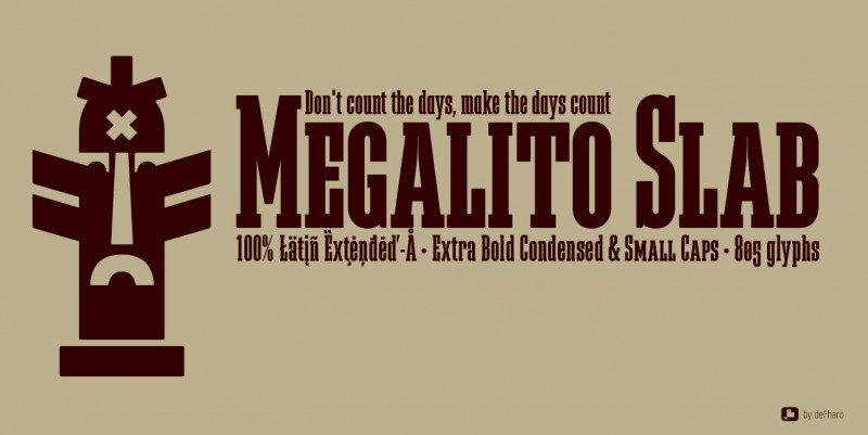 Megalito Slab & Small Caps Font-3