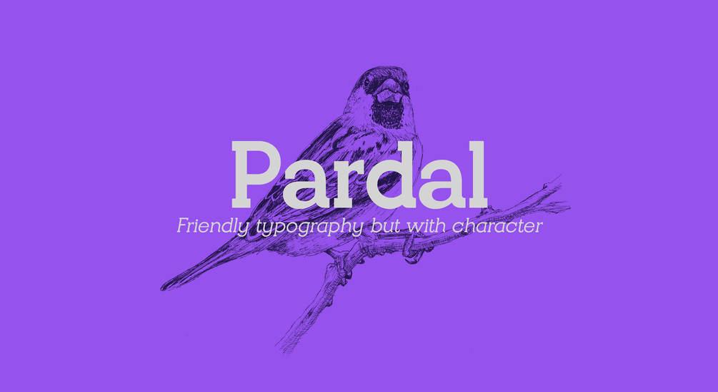 Pardal Font Family