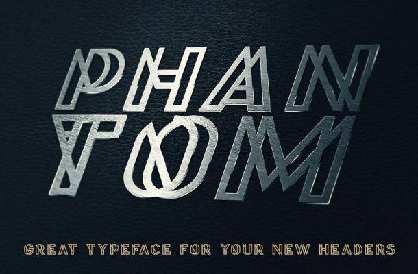 Phantom Display Font