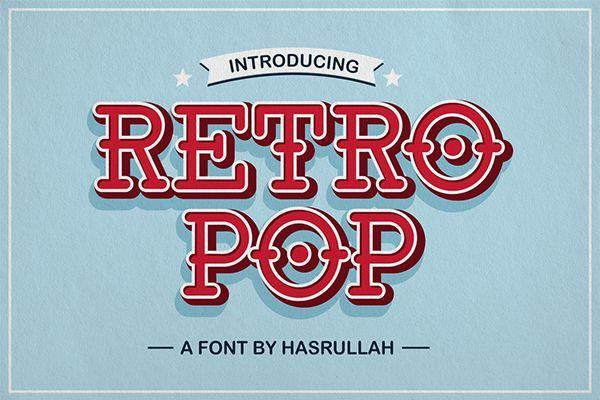Retro Pop Font Family
