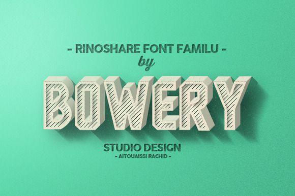 Rinoshare Font Family-1
