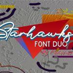 Starhawks Font Duo