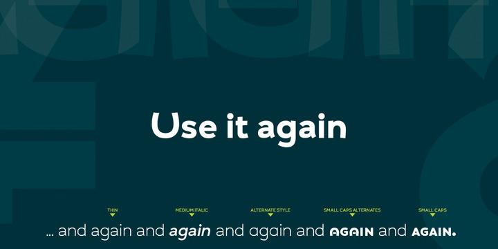 UMBA Sans Font Family-3
