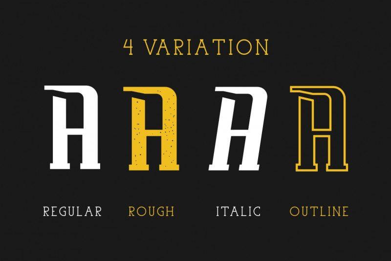 Uovo Di Drago Typeface-3