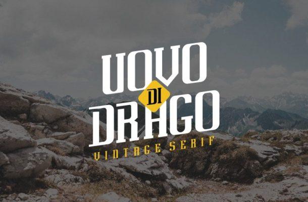Uovo Di Drago Typeface
