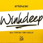 WinkDeep Script Font Duo