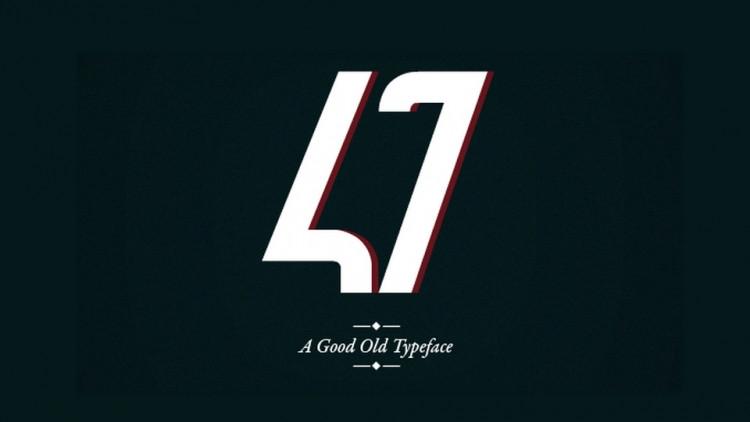47 Typeface