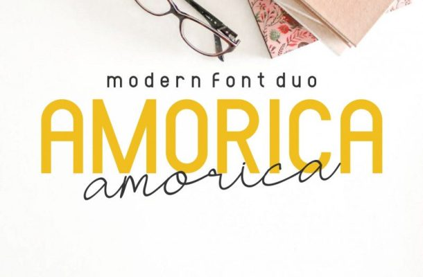 AMORICA Font Duo