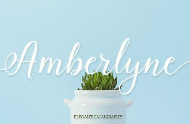 Amberlyn Script Font
