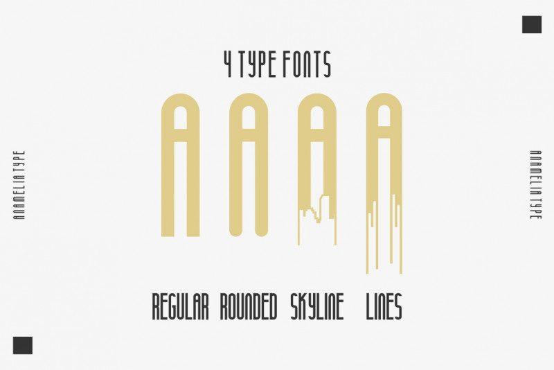 Anamelia Typeface-2