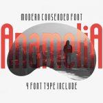 Anamelia Typeface