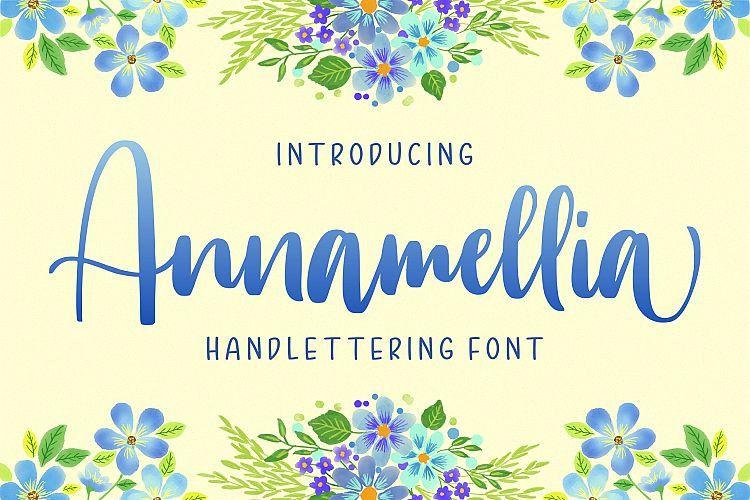 Annamellia Handlettering Font