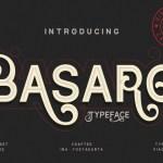 Basaro Display Font