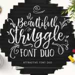 Beautiful Struggle Font