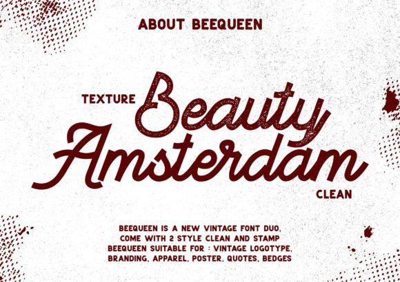 BeeQueen Script Font-2