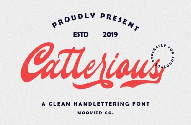 Callerious Script Font