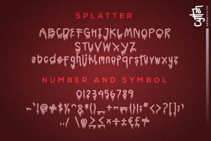 Cyttah Graffiti Font-4