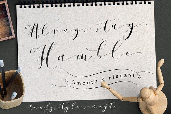 Donita Handscript Font-3