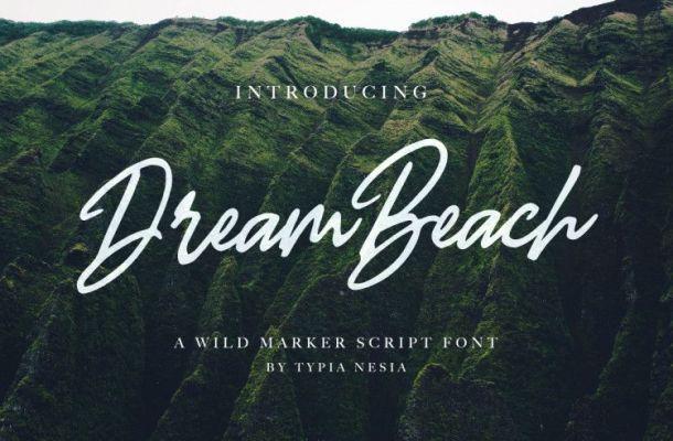 Dream Beach Script Font