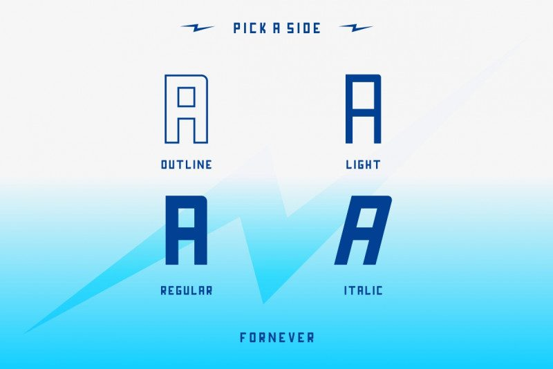 FORNEVER Typeface-2