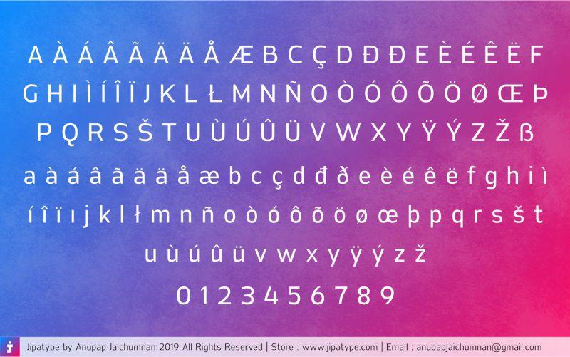 Jipatha Sans Font-3