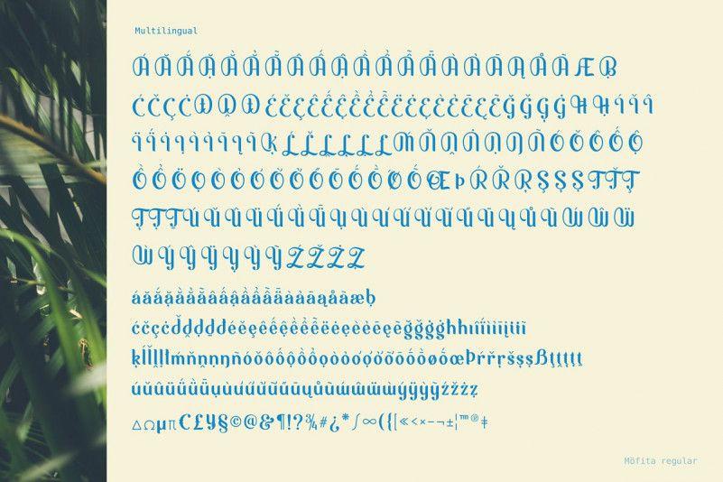 Möfita Display Font-3