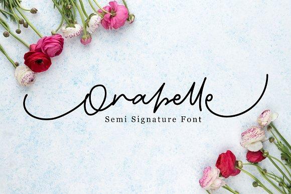 Orabelle Signature Font