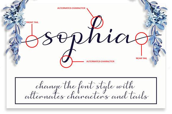 Simphony Calligraphy Font-3