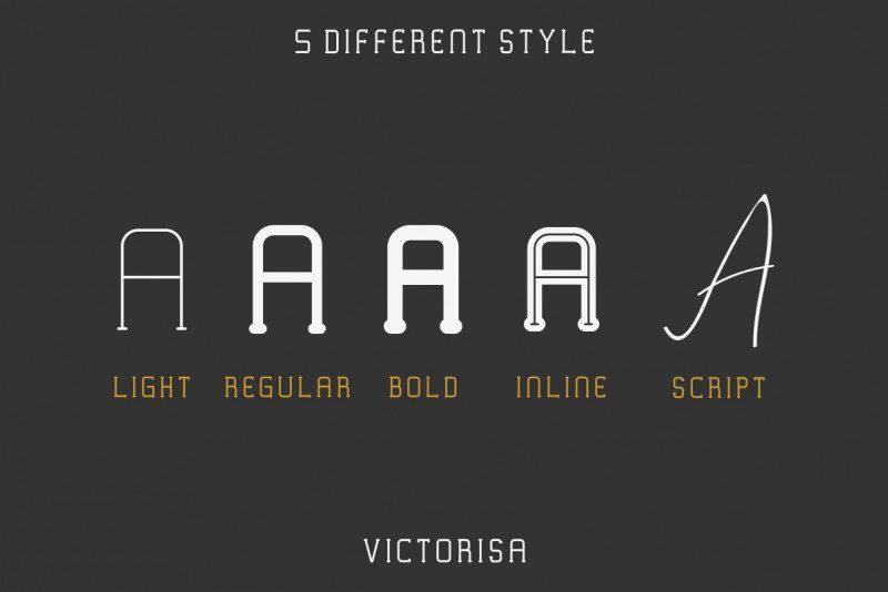 Victorisa Typeface-2