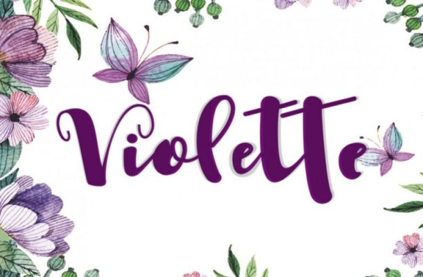 Violette Script Font