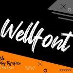 Wellfont Brush Font