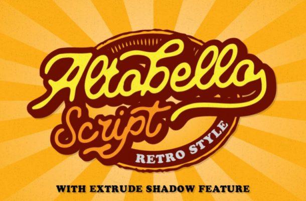 Altobello Script Font