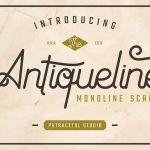 Antiqueline Script Font