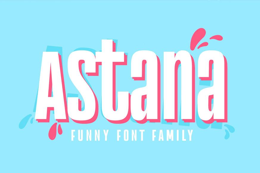Astana Font-1