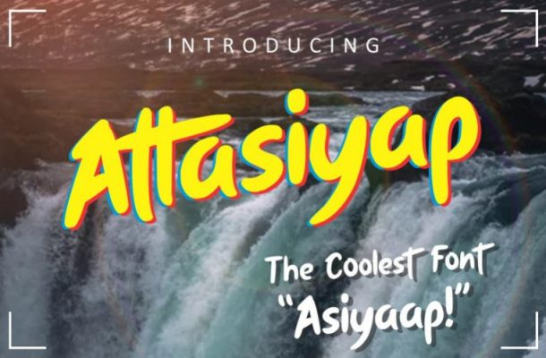 Attasiyap Script Font