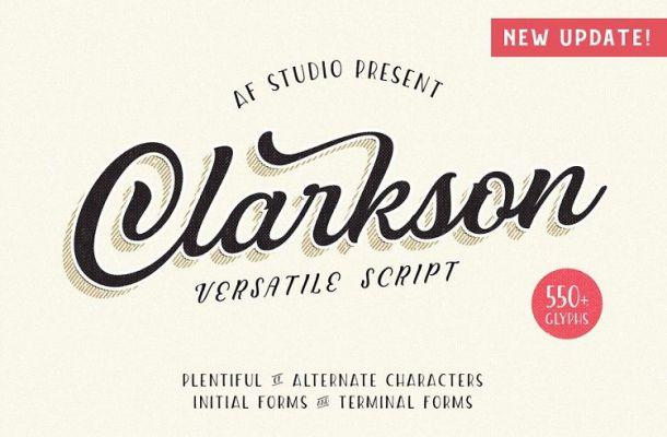 Clarkson Script Font