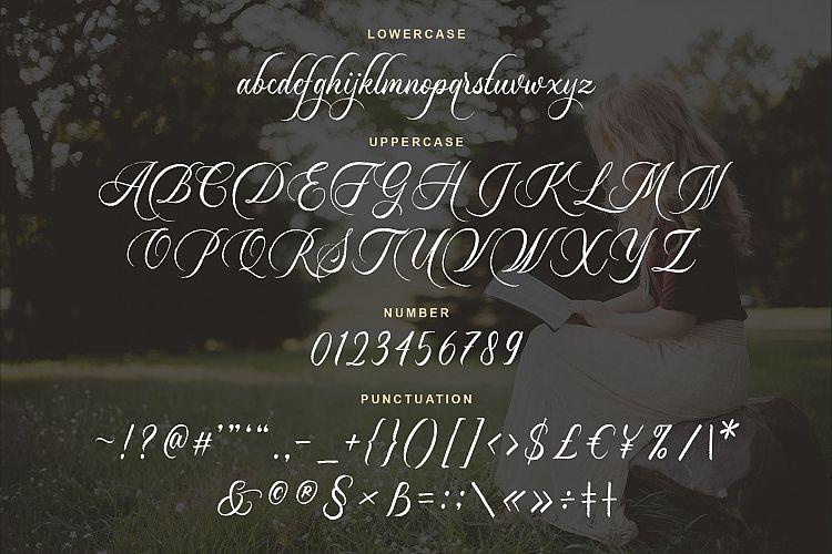 Dayland Calligraphy Font-2