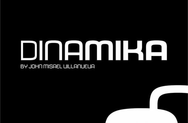 Dinamika Sans Font