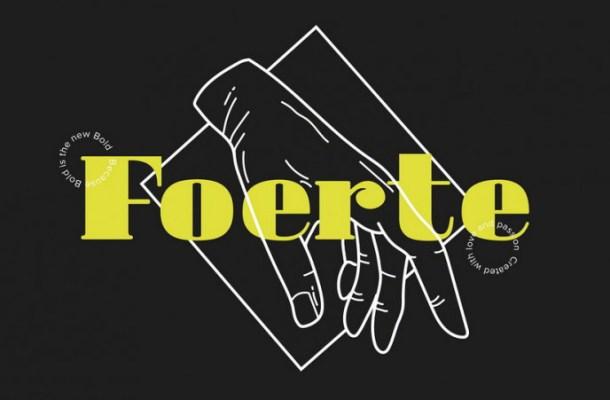 Foerte Serif Font